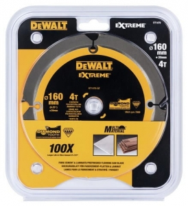 DEWALT DT1470-QZ Tarcza pilarskie do włóknocementu 160x20mm x4T