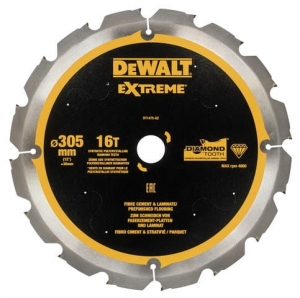 DEWALT DT1475-QZ Tarcza pilarskie do włóknocementu 305x30mm x16T