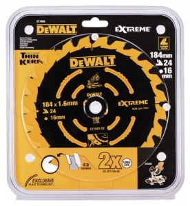 DEWALT DT1669-QZ SPECJALNA TARCZA PILARSKA EXTREME® do DCS365 184x16x24T Course for DCS365