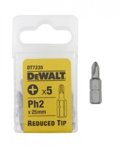 DEWALT DT7235-QZ  25mm Reduced Tip Phillips Ph2 x 5