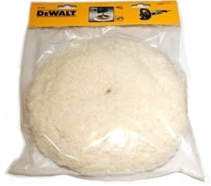 DT3568-QZ DEWALT Akcesoria polerskie do DWP849X 180mm Velcro wool bonnet